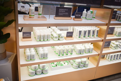 Seventh Sense CBD Shop at the Fayette Mall in Lexington, Kentucky (CNW Group/Green Growth Brands)
