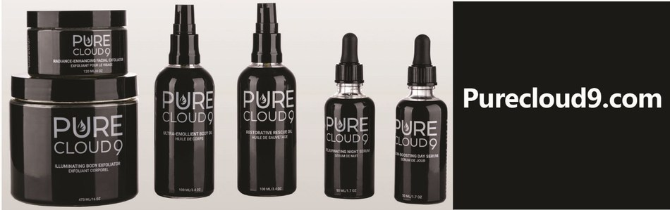 Liht Cannabis Corp. Launches Hemp Seed Oil Based Skincare – PureCloud 9 – Available Now Online and In-store (CNW Group/Liht Cannabis Corporation)