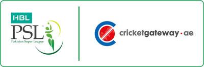 PSL and Cricketgateway logo (PRNewsfoto/Global Sports Commerce)