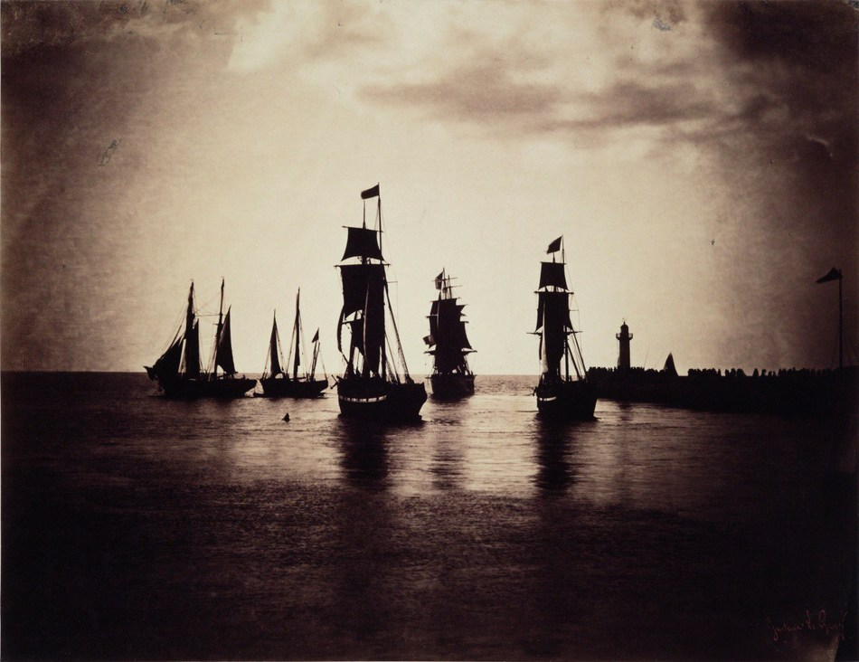 Gustave LE GRAY (1820-1884)  Boats leaving the port of Le Havre (1856-57) (PRNewsfoto/Artprice.com)