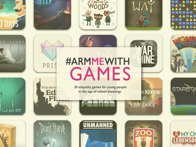 Literary Safari Media's #ArmMeWithGames list features 20 empathy and social emotional learning game recommendations for young people growing up in the shadow of lockdown drills and school shootings. It is a companion resource to the #ArmMeWithBooks list which features reading recommendations from over 50 award-winning children's authors and librarians.