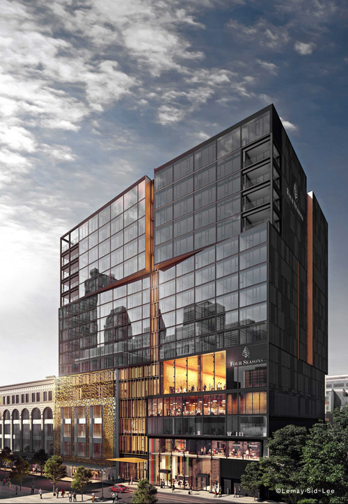 The All-New Four Seasons Hotel Montreal is Now Confirming Reservations for Its Spring 2019 Opening.