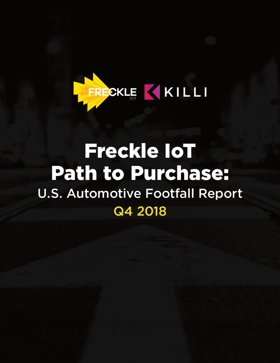 Freckle IoT and Killi launch Q4 2018 Footfall Report for U.S. and Canadian Markets