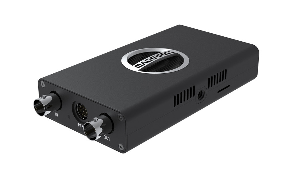 Magewell's plug-and-play Pro Convert SDI Plus NDI encoder lets users easily connect existing SDI video sources into live, IP-based production workflows.