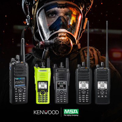 MSA and JVCKENWOOD Team Up to Offer Firefighters Improved Voice Communication Capabilities:  MSA's industry-leading G1 Breathing Apparatus now Bluetooth® compatible with Kenwood Portable Radios