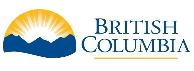 Logo: Gouvernement de la Colombie-Britannique (Groupe CNW/Société canadienne d'hypothèques et de logement)