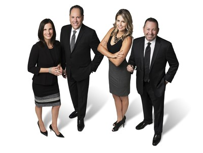 Realty Pro 100℠ Executive Team Members (from left to right); Joanne Vartanian - CEO & President, Blake Vartanian - Chairman, Mary Walters - Vice President & General Manager, and Zantine Greenwood - CIO (PRNewsfoto/Realty Pro 100)