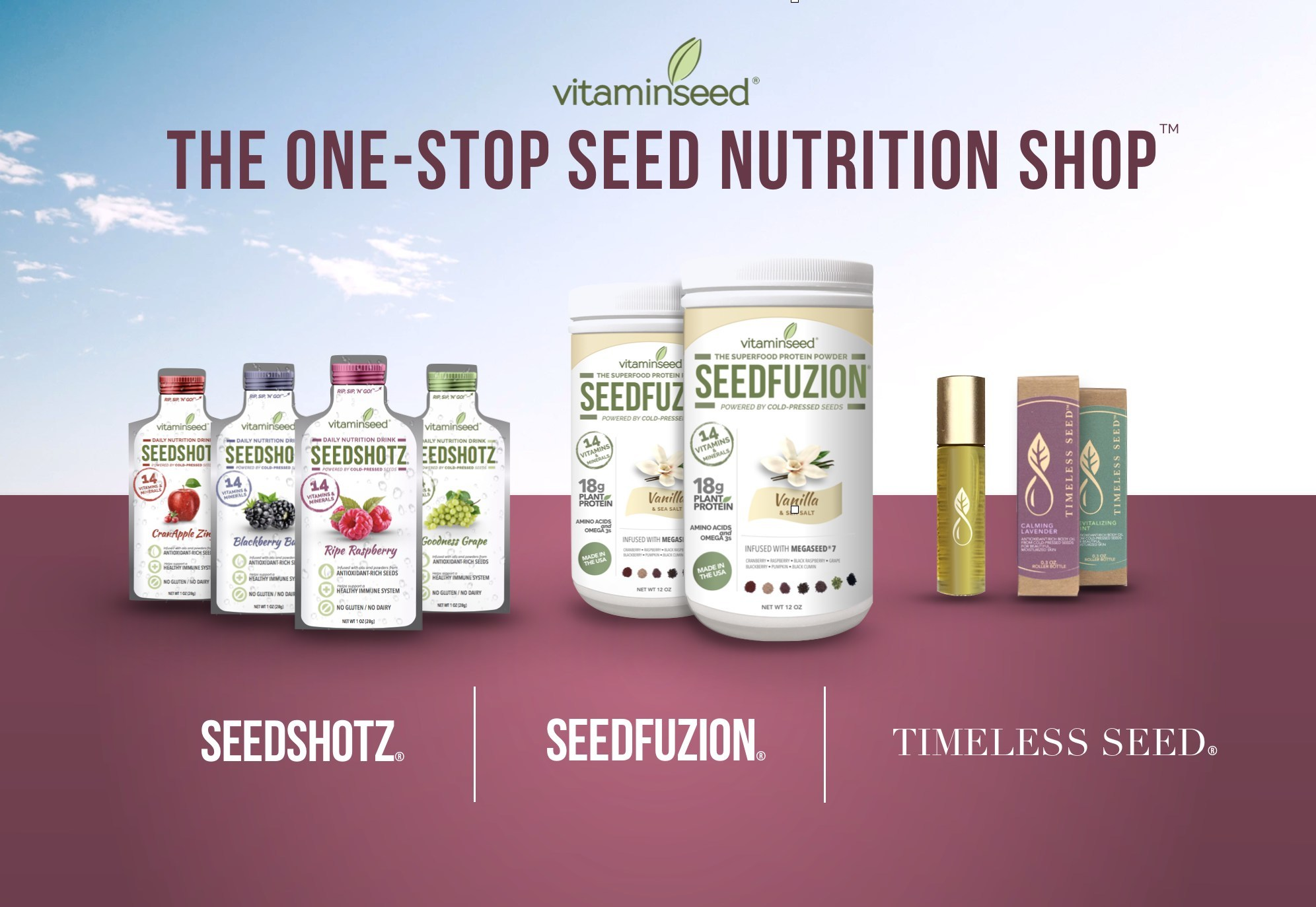 Vitaminseed Introduces One Stop Seed Nutrition Shop