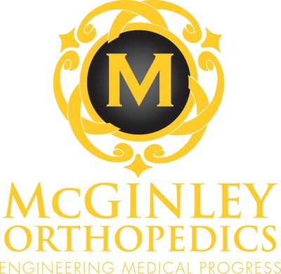 McGinley Orthopedics Logo (PRNewsfoto/McGinley Orthopedics)