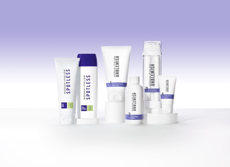 Rodan & Fields announces the launch of SPOTLESS, a patent-pending teen and young adult acne solution, as well as an update to its UNBLEMISH Regimen, designed to address adult acne, as well as the visible signs of aging, with new formulas that feature Benzoyl Peroxide and Salicylic Acid.