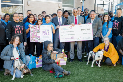Dallas Animal Services is one of four Texas animal welfare organizations receiving a lifesaving grant investment from the Petco Foundation at surprise celebrations this week.