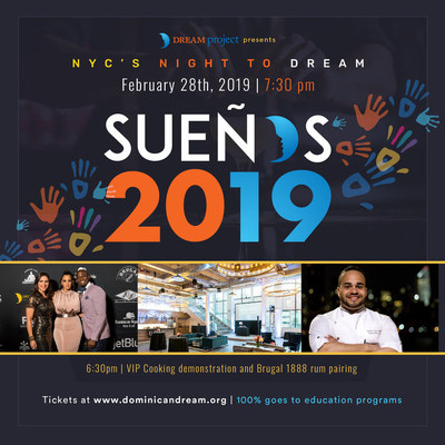 Invitation to the DREAM Project's Annual Benefit: Sueños 2019