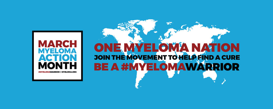 The International Myeloma Foundation spearheads be a #myelomawarrior campaign.