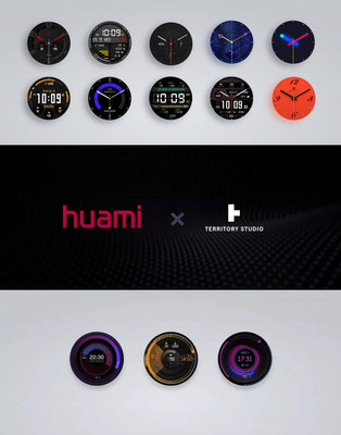 Cooperated with Territory Studio to customize smartwatch faces