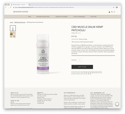 Seventh Sense (CNW Group/Green Growth Brands)