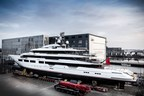 Oceanco Launches 90m/295ft (Y716) DreAMBoat