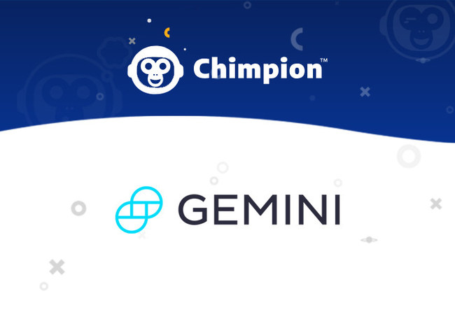 Arnaut, Chairman of Chimpion, expresses particular enthusiasm for the new e-commerce project's adoption of Gemini dollar (GUSD), the world's first regulated stablecoin.