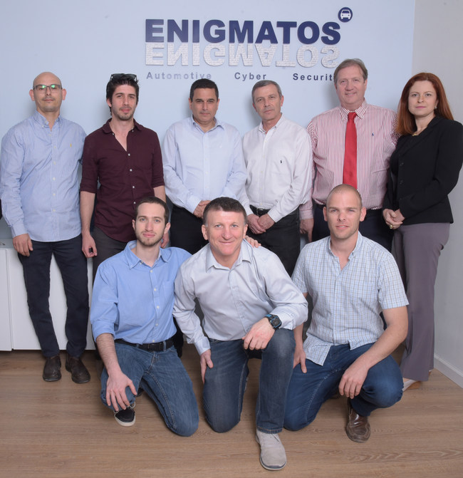 The Enigmatos team  Picture courtesy of Yoni Malka