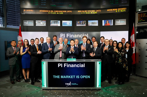 PI Financial Corp. Opens the Market (CNW Group/TMX Group Limited)