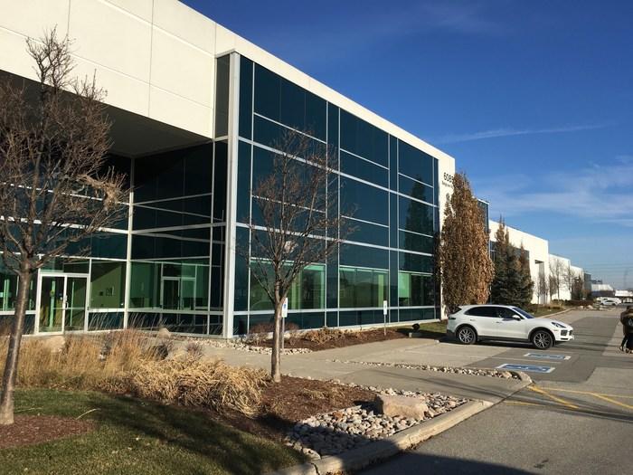 Automobiles Porsche Canada annonce l'emplacement de son premier Centre de distribution de pièces (Groupe CNW/Automobiles Porsche Canada)