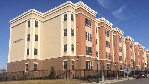 Twin River Commons student housing community at Binghamton University