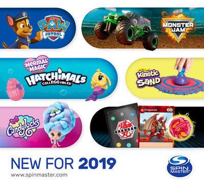 Spin Master reveals its most diverse portfolio of innovative toys, games, products and entertainment properties at the North American International Toy Fair (CNW Group/Spin Master)