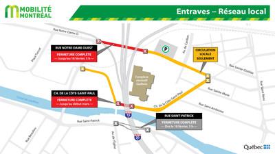 Entraves - Réseau local (Groupe CNW/Ministère des Transports)