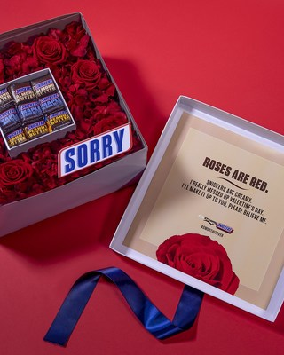 #SmoothItOver with Bouquets Infused with Creamy SNICKERS® Available Today Only.