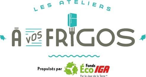 Logo : À vos frigos (Groupe CNW/Fonds Éco IGA)