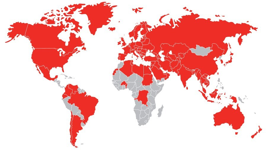 Creditsafe's Global Coverage
