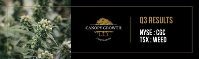 Canopy Growth Corporation Reports Third Quarter Fiscal 2019 Financial Results (CNW Group/Canopy Growth Corporation)