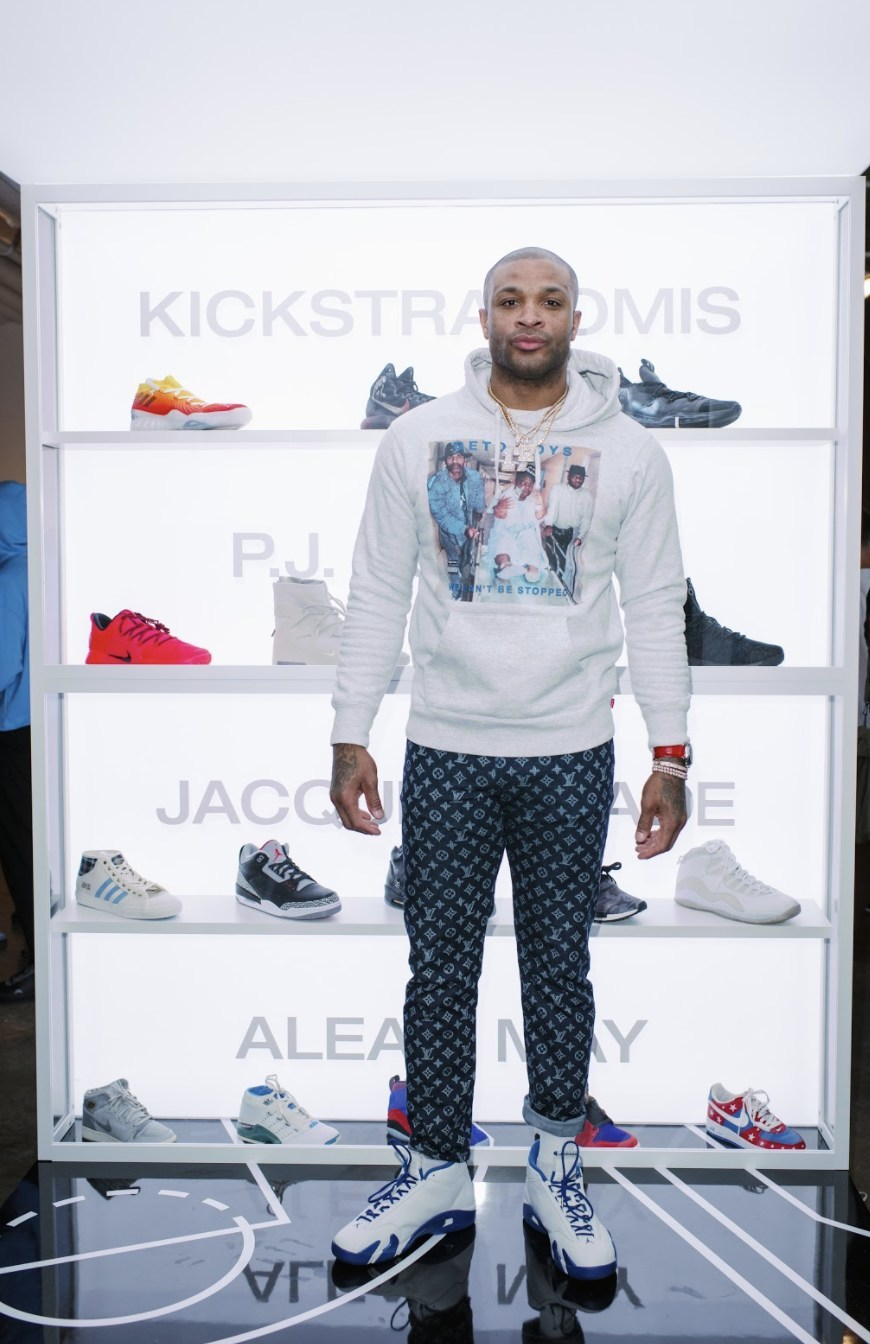 "Shop the personal collection of NBA player P.J. Tucker, including Nike Fear of God ""Friends and Family,"" autographed Nike Basketball Hyperdunk ""PE,"" signed P.J. Tucker #17 Houston Rockets ""Official NBA game jersey,"" and an autographed NBA Basketball signed by the entire Houston Rockets team."