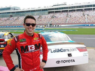"""LeithCars.com is """"Supra"""" Excited to Sponsor Timmy Hill's NASCAR Xfinity Race Cars at Charlotte"""
