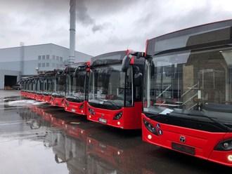 Temsa delivered 25 ecofriendly buses to Kaunas. (PRNewsfoto/TEMSA)