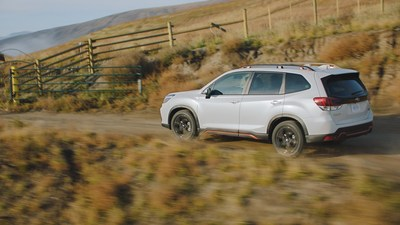 Subaru unveils new creative campaign to launch the safest, longest lasting, most adventurous Forester ever.
