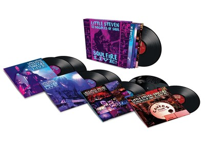 Little Steven And The Disciples Of Soul's 'SOULFIRE LIVE!' Vinyl Box Set And Blu-Ray Video Released Today