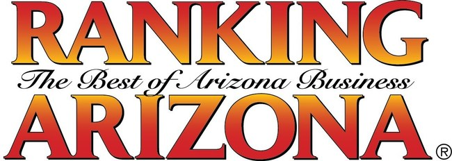 Ranking Arizona is an annual publication of top-ranked Arizona companies across various industry categories.