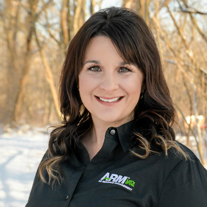 Pictured is Jill Miller who serves as the Market Leader for ARM in Bad Axe, Mich.