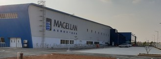 Magellan Aerospace (India) Pvt. Ltd. is a newly constructed, 100,000 sqft machining and assembly facility, recently opened in Hitech Defence and Aerospace Park in Devanahalli, Bangalore (CNW Group/Magellan Aerospace Corporation)