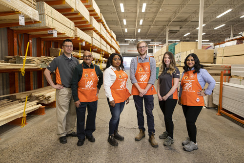 The Home Depot Canada to hire 5,500 new associates (CNW Group/The Home Depot of Canada Inc.)