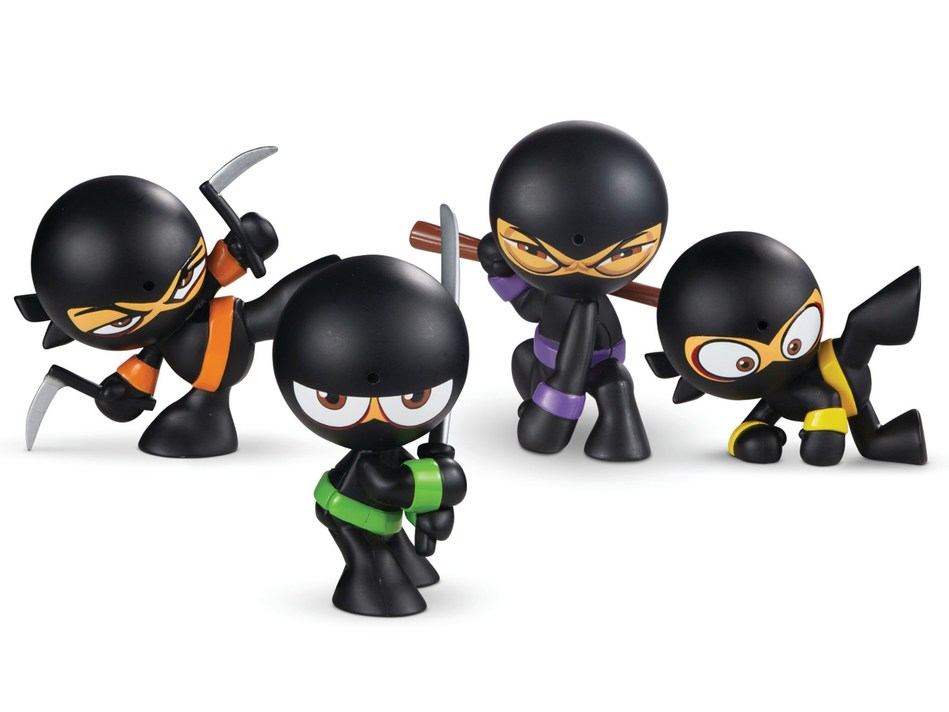 Funrise announces new Fart Ninjas toy line of collectible figures featuring motion-activated fart sounds at 2019 Toy Fair New York.