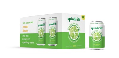 Spindrift Lime 12 oz. Cans #nolimeemoji