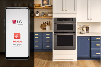 LG Expands Roster Of Smart Kitchen Partnerships With Unique 'Tovala' Integration