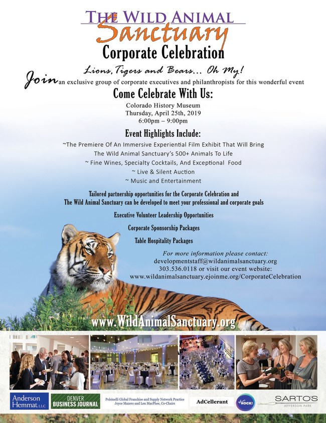 Corporate Celebration Flyer