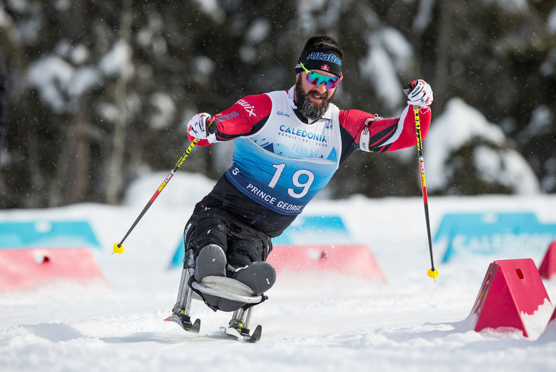 Collin Cameron captured his first world championship medal with a silver in the men's 12.5-kilometre biathlon sit-skiing event. PHOTO: Canadian Paralympic Committee (CNW Group/Canadian Paralympic Committee (Sponsorships))
