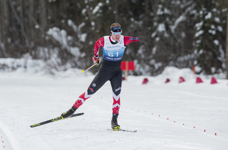 Mark Arendz skied to a silver medal in the 10-kilometre cross-country race on Sunday. PHOTO: Canadian Paralympic Committee (CNW Group/Canadian Paralympic Committee (Sponsorships))