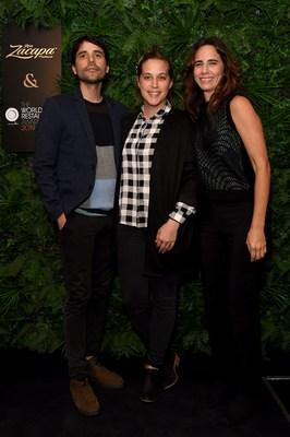 美食明星参加世界餐厅奖评选和萨凯帕朗姆酒在巴黎举行的欢迎宴会