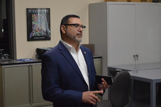 Mario Garcia, Deputy Commander of California Cyber Security Integration Center, kicks off 2018 California Mayors Cyber Cup
