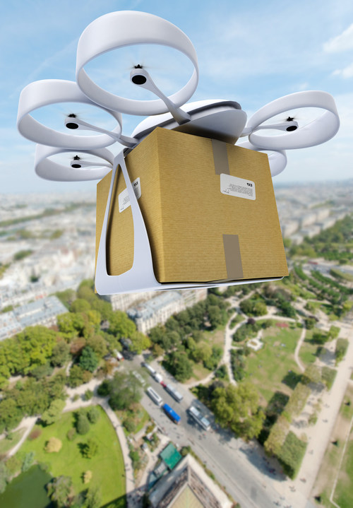 Commercial drone delivery