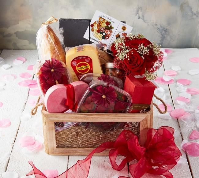 "Jarlsberg® Cheese Social Giveaway ""Just for Bae"" Gift Basket"